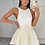 Thumbnail: PEARL Premium Cream Fluffy Skirt (SALE)