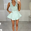Thumbnail: LENA Pastel Mint Premium Stretch Rib Bodysuit