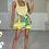 Thumbnail: REESE Lemon Square Neck Knit Bodysuit