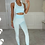 Thumbnail: KELLY Premium Ice Blue Textured Gym Set (SALE)