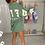 Thumbnail: MAISIE Green Buffalo Oversized Jumper Dress