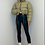 Thumbnail: CHARLY Toffee Cropped Drawstring Puffer Jacket