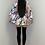 Thumbnail: PALOMA Purple & Mint Belted Frill Dress