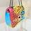 Thumbnail: BAILEY Multi Coloured Bright Graffiti Handbag (Dispatch 4th Aug)