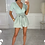 Thumbnail: PIPER Mint Premium Ribbed Short Sleeve Bodysuit
