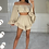 Thumbnail: EVIE Beige Lightwight Bell Sleeve Co Ord
