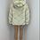 Thumbnail: IVY Beige 5 Tier Luxury Faux Fur Hooded Coat