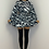 Thumbnail: PALOMA Zebra Print Belted Frill Dress