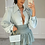 Thumbnail: KENDRA Sage High Waisted Gypsy Skirt