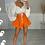 Thumbnail: IRIS White Baloon Sleeve Bralet (SALE)