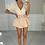 Thumbnail: CALI Dusky Pink Cinched Waist Denim Skort (SALE)