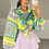 Thumbnail: BIANCA Lilac Premium High Waisted Skort