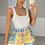 Thumbnail: REESE White Square Neck Knit Bodysuit (SALE)