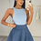 Thumbnail: PEARL Premium Midnight Blue Fluffy Skirt