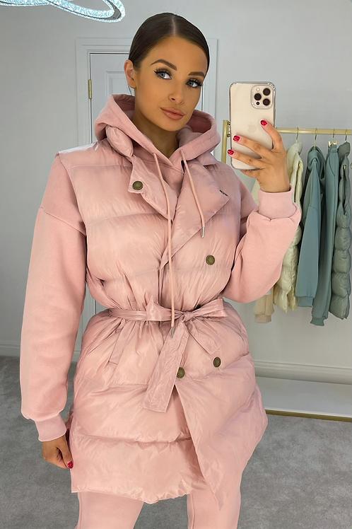 ELONER Pink Lightweight Puffer Gilet