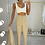 Thumbnail: ELIZABETH Beige Structured Pant Suit (SALE)