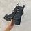 Thumbnail: HARPER Black Chunky Pocket Boots