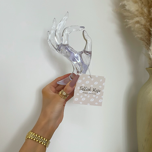 Acrylic Female Hand Jewellery Stand