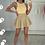 Thumbnail: PEARL Premium Beige Fluffy Skirt