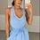 Thumbnail: APRIL Blue Premium Rib Asymmetric Bodysuit