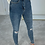 Thumbnail: ASHLEY Blue High Waisted Distressed Skinny Jeans (SALE)