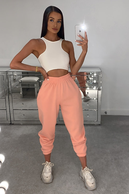 PIA Coral High Waisted Thick Joggers