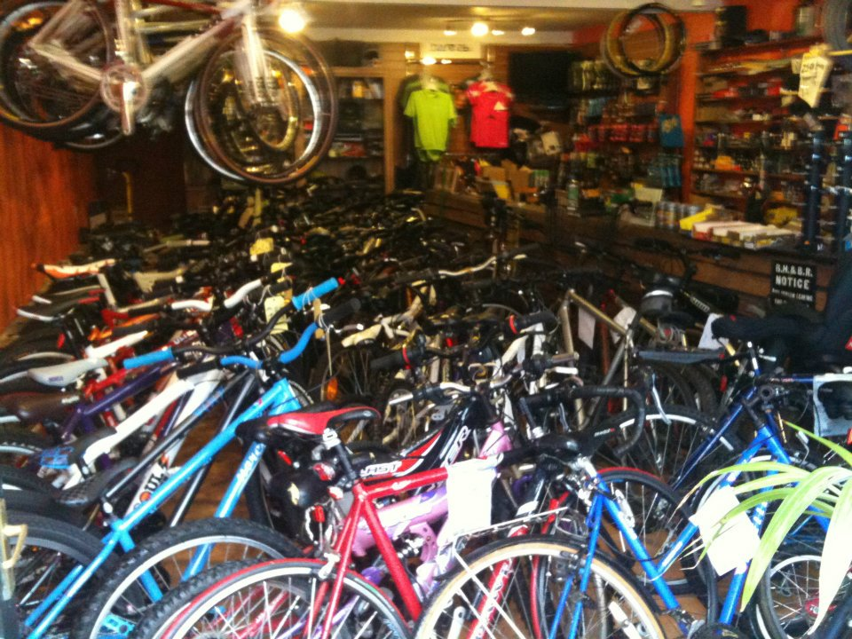 large range of bikes available