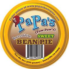 Medium Bean Pie