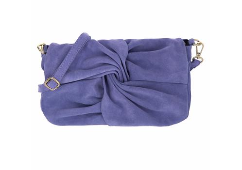 Suede Handbag Lilac