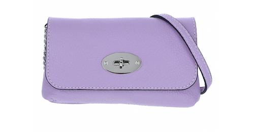 Leather Handbag Lilac