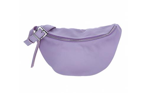 Leather Shoulder Bag Lilac