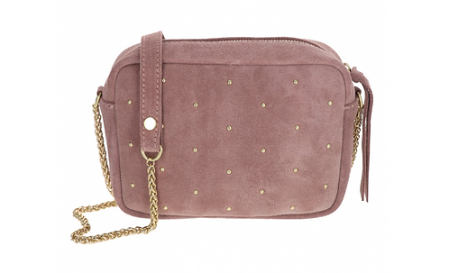 Suede Shoulder Bag Light Pink