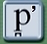 Phonetic symbol for the voiceless labio-dental plosive ejective.
