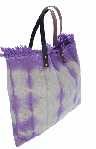 Shopping Bag Purple One Size