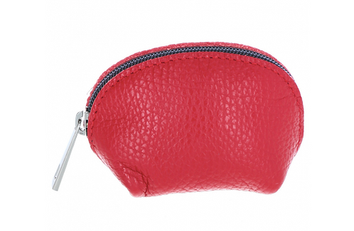 Leather Pouch Red