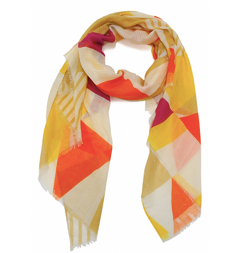Scarf Multi Orange