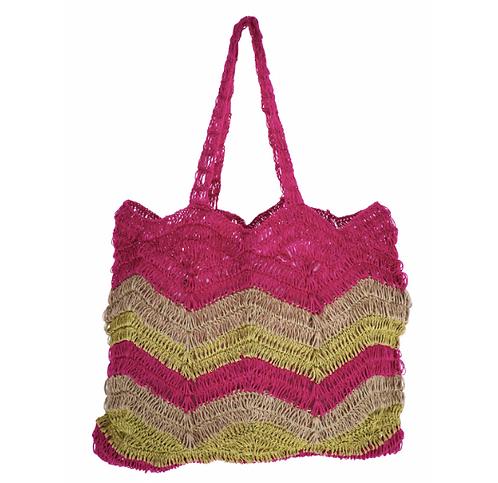 Crocheted Bag Multicolour