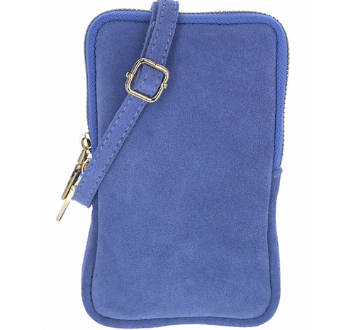 Suede Pouch Lilac