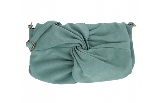 Suede Handbag Mint