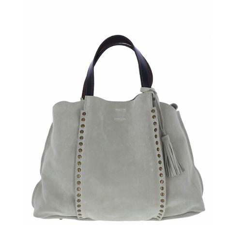 Sued Shopping Bag