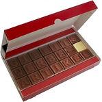 telegramma di cioccolato personalizzato