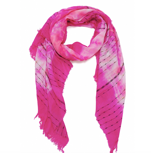 Scarf Woven Pink