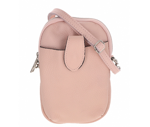 Leather Pouch Rose