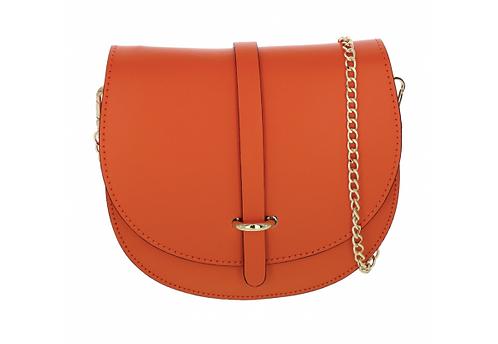 Leather Handbag Orange