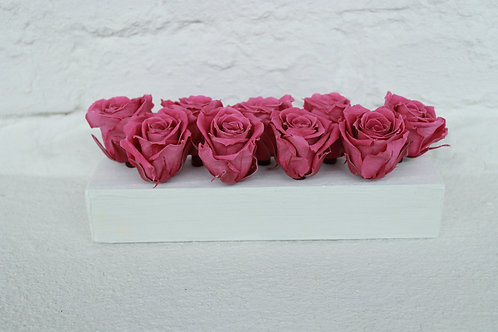 9 Real Roses Preserved. Ideal wedding gift