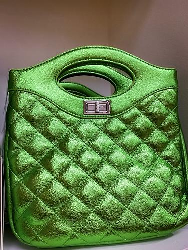 Bucket Green Bag