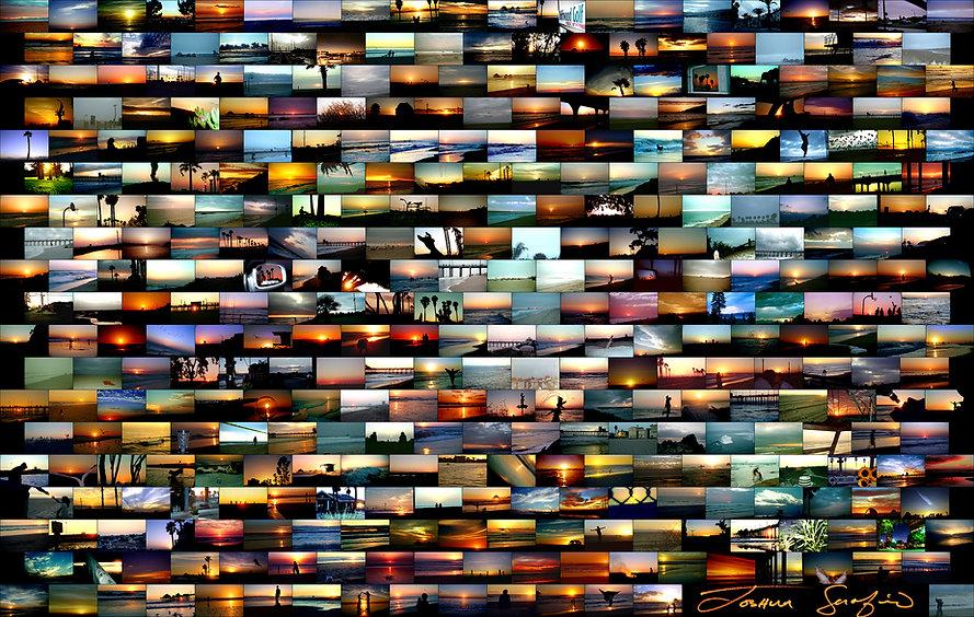 Sunset Resolution 2000 - Every Sunset of 1999!