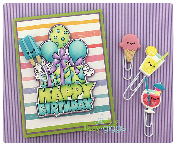 Hot Color Birthday Card sm