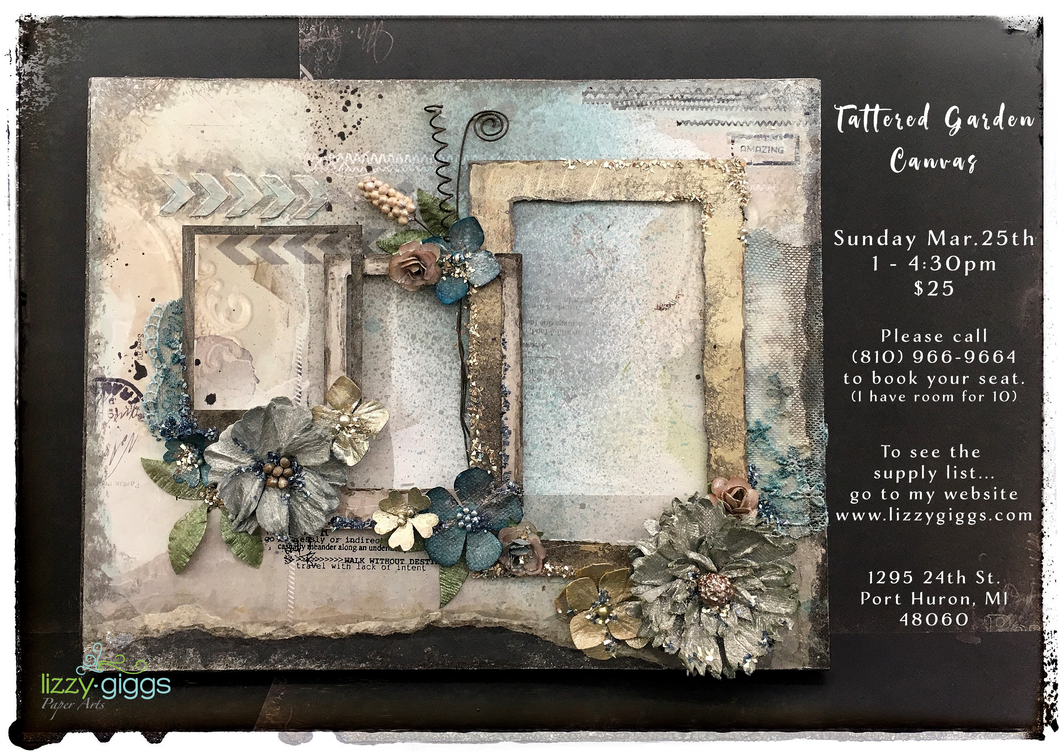 Tattered Garden Canvas fb