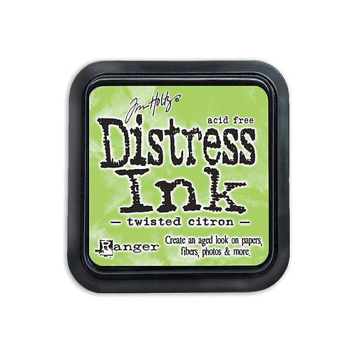 Mini Distress Ink: Twisted Citron